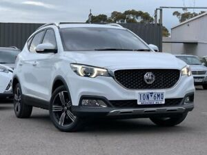 2017 MG ZS White Automatic Wagon Hoppers Crossing Wyndham Area Preview