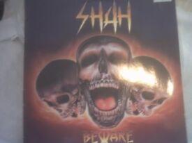 Vinyl LP Shah – Be Ware Atuh H009 1989