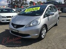 2010 Honda Jazz GE GLI Silver 5 Speed Automatic Hatchback Lansvale Liverpool Area Preview