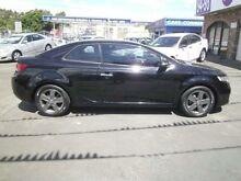 2010 Kia Cerato TD MY10 Koup Black 4 SPEED Semi Auto Coupe Clyde Parramatta Area Preview