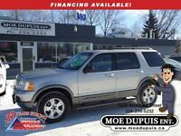 2004 Ford Explorer XLT,4X4, LOW!!LOW!! KMS! 109 000