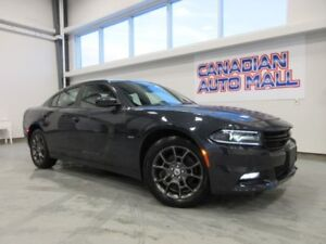 2018 Dodge Charger GT4 AWD, ROOF, LEATHER, BT, CAMERA, 16K!