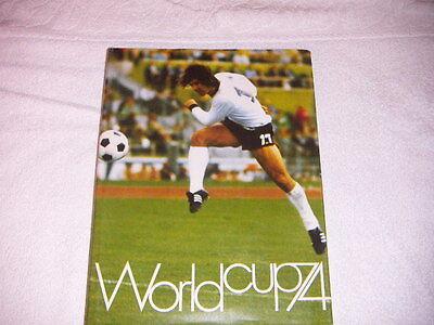 Fussball Buch WM 74