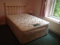 Double divan bed in good condition