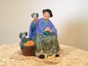 Royal Doulton Figurine - Tuppence A Bag