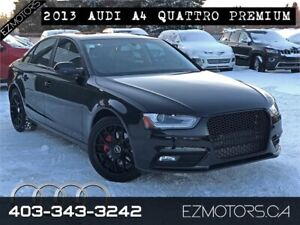 2013 Audi A4 QUATTRO|NO ACCIDENTS|ONLY 52000KMS!