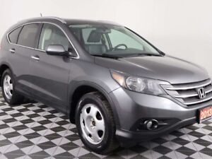 2013 Honda CR-V TOURING w/HEATED LEATHER, SUNROOF, NAVIGATION