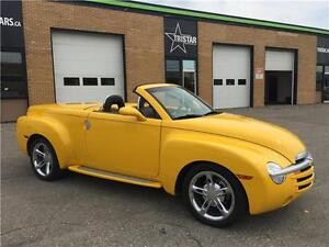 2004 CHEVROLET SSR -- SUPERCHARGED -- WE FINANCE