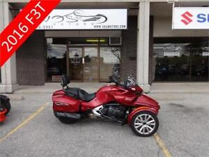 2016 Can Am Spyder F3T-Stock#V2607-Free Delivery in the GTA**