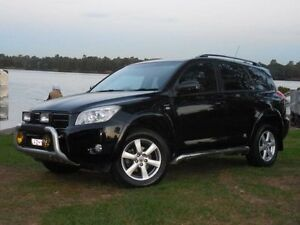 2007 Toyota RAV4 Cruiser Black Manual Wagon Lansvale Liverpool Area Preview