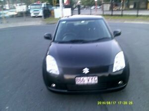2006 Suzuki Swift Black 5 Speed Manual Hatchback Springwood Logan Area Preview