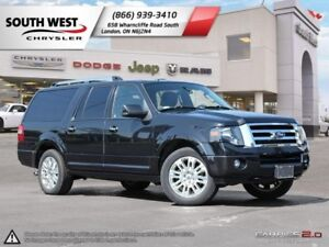2014 Ford Expedition Max | Limited | Leather | Sunroof | Rear DV