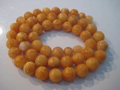 Bernsteinkette Baltic Amber Necklace Butterscotch Beads Balls