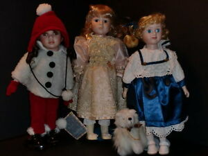 Vintage Porcelain Dolls Collection--27 dolls never played with Peterborough Peterborough Area image 5
