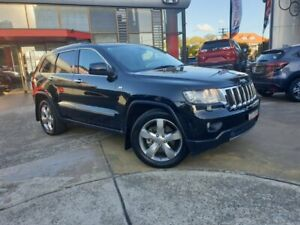2012 Jeep Grand Cherokee WK MY2013 Limited Black 5 Speed Sports Automatic Wagon Hornsby Hornsby Area Preview