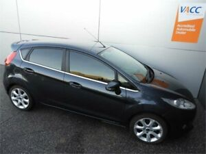 2010 Ford Fiesta WS Zetec Grey 4 Speed Automatic Hatchback Coburg North Moreland Area Preview