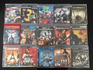 15 Assorted Play Station 3 Video Games