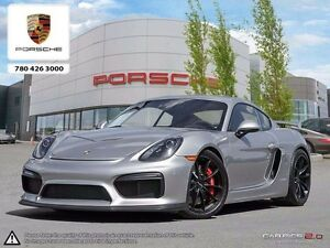2016 Porsche Cayman GT4 - Local Edmonton Vehicle Never Track Dri