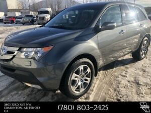 2008 Acura MDX 7 Passenger 4 Wheel Drive Leather Heated Seats