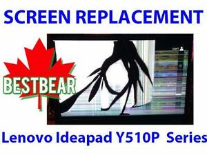 Screen Replacment for Lenovo Ideapad Y510P  Series Laptop