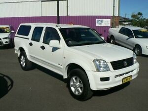 2005 Holden Rodeo RA MY05.5 Upgrade LX White 5 Speed Manual Crew Cab P/Up Dubbo Dubbo Area Preview