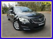 2007 Toyota Aurion GSV40R AT-X Black 6 Speed Sports Automatic Sedan Lansvale Liverpool Area Preview