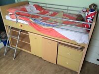 For sale - Hampshire Cabin Sleeper bed and mattress.
