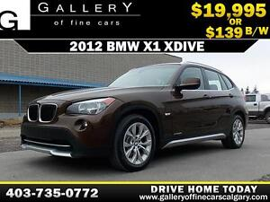 2012 BMW X1 xDrive28i $139 bi-weekly APPLY NOW DRIVE NOW