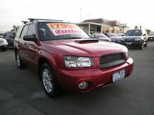 2004 Subaru Forester 79V MY04 XT AWD Dark Maroon 4 Speed Automatic Wagon Heatherton Kingston Area Preview