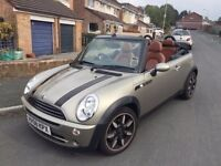 Mini one convertible - limited edition 'sidewalk' 08 plate - low mileage
