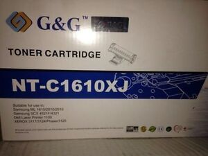 Laser printer black cartridge