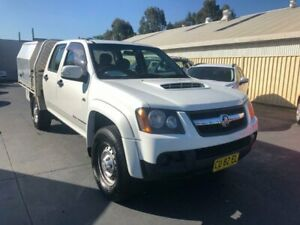 2010 Holden Colorado RC MY10 LX (4x4) 5 Speed Manual Crew Cab Chassis Canley Vale Fairfield Area Preview