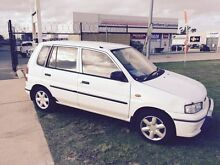 1997 Mazda 121 154000KM Automatic White Automatic Hatchback Wangara Wanneroo Area Preview
