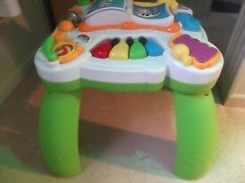Leap Frog Interactive Musical Play Table