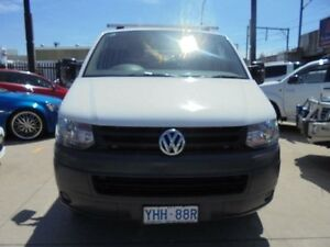 2010 Volkswagen Transporter T5 MY10 White 7 Sports Automatic Dual Clutch 4D Cab Chassis Holroyd Parramatta Area Preview