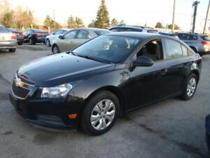 2014 CHEVROLET CRUZE - ACCIDENT FREE * ONE OWNER