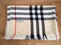 Heritage Check Silk Scarf