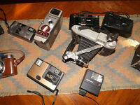 Various Old and New Cameras for Sale