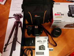 Canon ESO Rebel T6 DSLR bundle