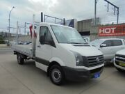 2013 Volkswagen Crafter 2FF1 MY13 35 TDI300 White 6 Speed Manual Cab Chassis Granville Parramatta Area Preview