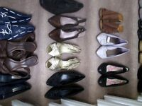 job lot of shoes and boots 23 in total