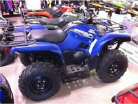 2014 Yamaha Grizzly 550  - ONLY $7499