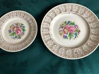 Mid Century Vintage 27 piece Solianware Dinner Service Set 1950's