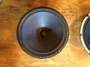 "SPEAKERS 12"" JENSEN, CELESTION, ALNICO, VINTAGE Peterborough Peterborough Area image 5"