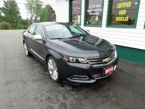 2015 Chevrolet Impala LTZ with all the options and V6!
