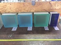 Glass Blocks all different shapes, designs + colours *CHEAPEST YOU WILL FIND*