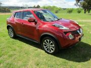 2016 Nissan Juke F15 Series 2 TI-S (FWD) Red 6 Speed Manual Wagon Invermay Launceston Area Preview
