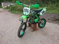 Road legal / onroad pit bike 160cc reg as 50
