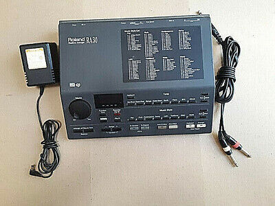 Roland RA-30 Realtime Arranger Synthesizer Midi Sound Percussion Synth w/ P/S