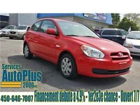 2010 Hyundai Accent GL Full - A/C - Cruise - CD